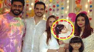 Aaradhya B'Day: Esha Deol's daughter caught staring at Aishwarya Rai; CUTE MOMENT captured FilmiBeat [Video]
