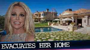 Britney Spears Evacuates Thousand Oaks Home Due to Wildfires [Video]