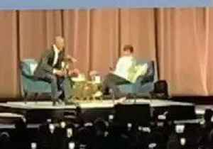 Obama's 'Jay-Z Moment' as He Surprises Michelle at DC Book Event [Video]