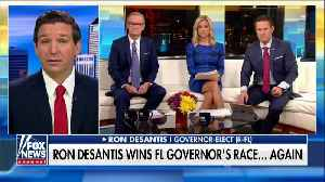 DeSantis says there was 'no way' Snipes would preside over another election [Video]