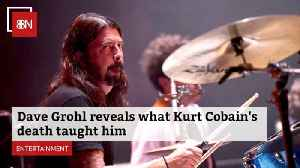 Dave Grohl Learned Lesson From Kurt Cobain
