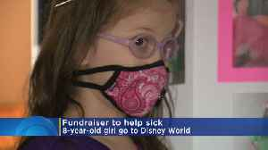 Tin Cup Fundraiser Aims To Send Girl With Rare Disease To Disney World [Video]