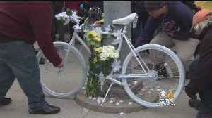 Ghost Bike Ceremony Held For Man Killed By Truck In Cambridge [Video]