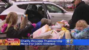Annual Food Drive Feeds More Than 1,000 Veterans [Video]