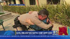 CHP Officer Reunites With Girl He Saved 16 Years Ago [Video]