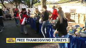 Tampa law firm giving away turkeys to families in need on Monday [Video]
