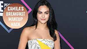 Camila Mendes does her makeup with pancakes [Video]