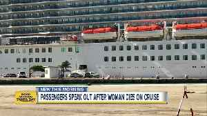 FBI investigating after American woman dies on cruise ship en route to Aruba [Video]