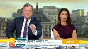 Piers Morgan Trolled By GMB Bosses With 'Nude' Photo [Video]