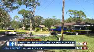Lee County man arrested for double homicide [Video]