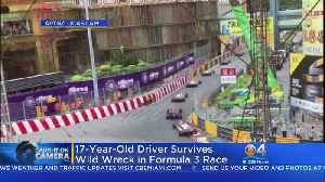 Caught On Camera: Driver Survives Formula One Crash [Video]