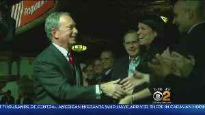 Bloomberg Donates To Alma Mater [Video]