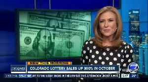 Colorado lottery sales up 300% in October