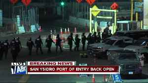 San Ysidro Port of Entry temporarily closed Monday morning [Video]