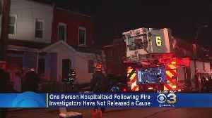 Officials Investigate After 1 Person Hurt In Early-Morning Fire [Video]