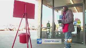 Cowboys Run Herd Of Cattle Around Ridgmar Mall, Launch Red Kettle Campaign [Video]