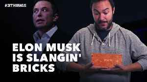 60 Second Video: Musk Drops Bricks, the Browns Eye Condi, and Facebook Friends Aren't Real [Video]