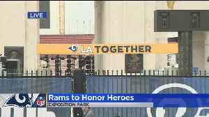 Woolsey Fire First Responders, Borderline Victims To Be Honored During Rams-Chiefs [Video]