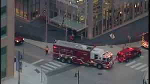 Suspicious Package Investigated At Downtown Baltimore Building [Video]