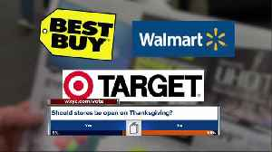 Which stores are open on Thanksgiving [Video]
