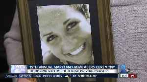 News video: Victims and families of drunk driving crashes honored at Maryland Remembers Ceremony