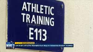 UW study suggests athletic trainers play important role in managing student injuries [Video]