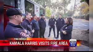 Kamala Harris Comes to Camp Fire