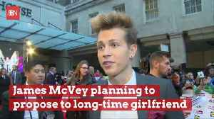 Shhh: James McVey Is Planning To Pop The Question [Video]