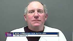 Man arrested for 5th OWI told police he should have gotten a SafeRide [Video]