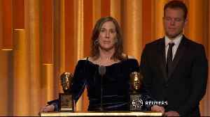 'Star Wars' producer Kennedy honored at Governors Awards in Los Angeles [Video]