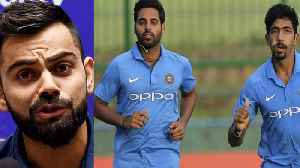 India VS Australia 1st T20: Virat Kohli All Praise For Bhuvneshwar, Jasprit Bumrah| वनइंडि&# [Video]