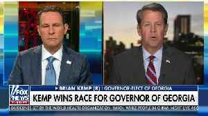 Brian Kemp dismantles sore loser Stacey Abrams [Video]