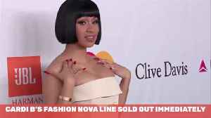 Sorry, Cardi B's Nova Clothes Sold Out [Video]