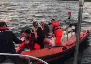 Coast Guard Rescues Migrants Aboard Raft Off Turkey [Video]