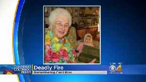Victim In Aurora Fire Known For Knitting Classes [Video]