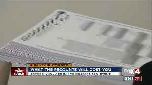 How much did the Florida recounts cost you [Video]