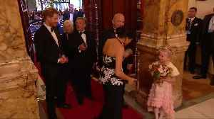 Britain's Prince Harry and Meghan guests of honour at Royal Variety show [Video]