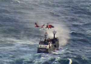 Coast Guard Medevacs Man From Alaska Ship in Choppy Conditions [Video]