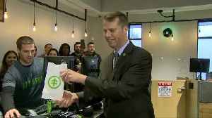 Massachusetts makes history with first pot shops [Video]