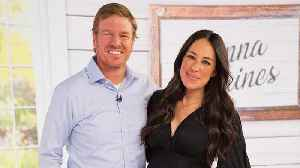 Chip and Joanna Gaines Just Bought a 13-Foot Christmas Tree: 'That Ladder Is Not Gonna Cut It' [Video]