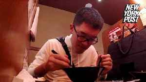 Slurping is the only sound at this ramen spot for introverts [Video]
