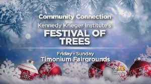 Find Your Holiday Cheer At The Festival Of Trees This Weekend [Video]