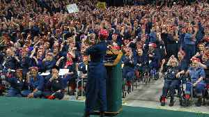 Thousands of Women Dressed as Rosie the Riveter Set Guinness World Record [Video]