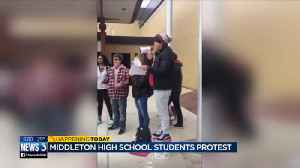 About 200 at Middleton walk out over student involved in sexual harassment claims [Video]