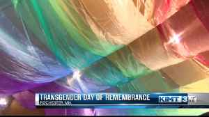 Candlelight vigil for transgender day of remembrance [Video]