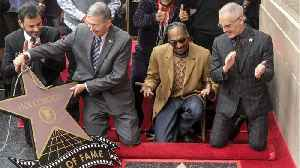 Snoop Dogg Gets Hollywood Walk of Fame Star [Video]