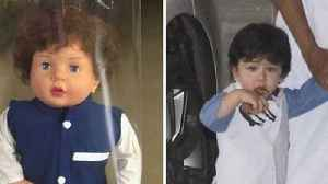 Taimur Ali Khan Gets A DOLL After Him That Is Being Sold In Kerala [Video]