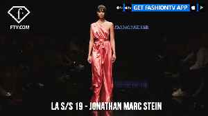 Los Angeles Fashion Week S/S 19  - Art Hearts Fashion - Jonathan Marc Stein | FashionTV | FTV [Video]