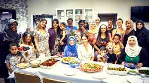 In shadow of tragedy, Meghan Markle helps bring Thanksgiving spirit to U.K. [Video]