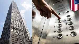 Six trapped after elevator falls 84 floors inside Chicago skyscraper [Video]